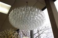 "36"" Polyhedral Chandelier"