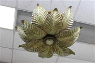 Metal Flower Shaped Chandelier