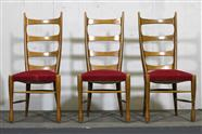 3 Buffa High Back Chairs