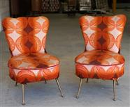 Mid-Century Slipper Chairs