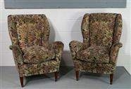 Italian Vintage Arm Chairs