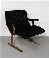single arm chairs by Saporiti