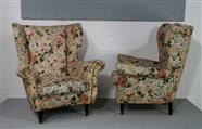 Pair of Italian Lounge Chairs