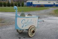 Gelato Antique Push Cart