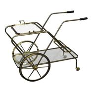 50s All brass Italian Tea Cart