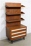 Bookshelf with Drawers