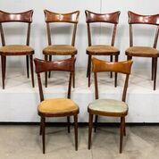 6 Vintage Dining Chairs